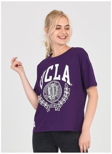 UCLA Ucla Avalon Mor Kadın T-Shirt Mor